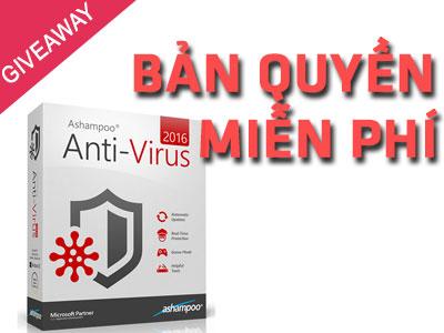giveaway ashampo antivirus 2016