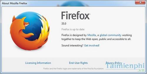 Firefox 35.0 Final