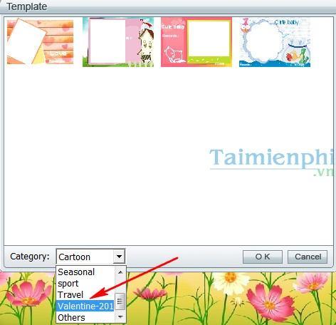 Photo Card Maker phần mềm thiết kế thiệp mừng miễn phí Tao-thiep-valentine-voi-photo-card-maker-2