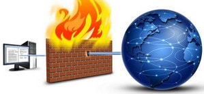 Firewall tren may tinh