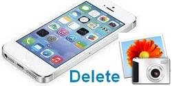 xoa anh tren iphone