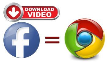 Download facebook video using Google Chrome
