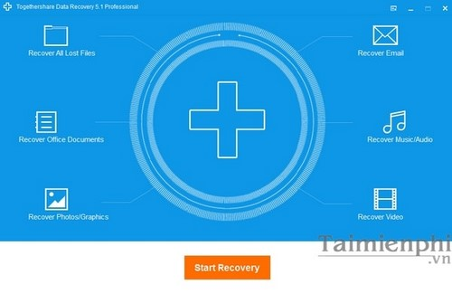 (Giveaway) Đăng ký bản quyền TogetherShare Data Recovery Professional,