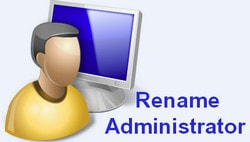 Rename the Administrator account on Windows 10