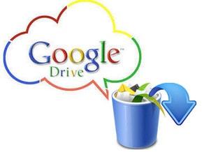 khoi phuc du lieu da xoa tren Google Drive