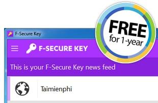 giveaway f secure key