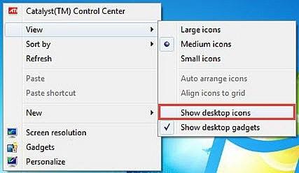 may tinh chi hien desktop khong co taskbar