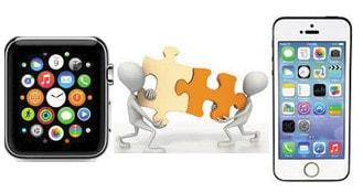 ket noi iphone va Apple Watch