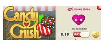 meo hay khi choi game Candy Crush Saga