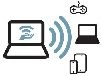 phat wifi tren laptop bang connectify
