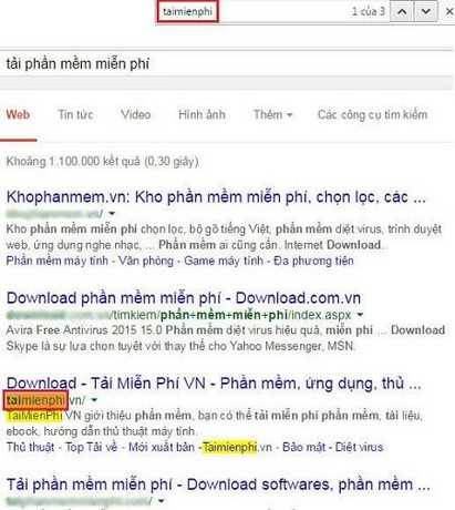 Cách rà soát thứ hạng từ khóa bằng Google.com.vn