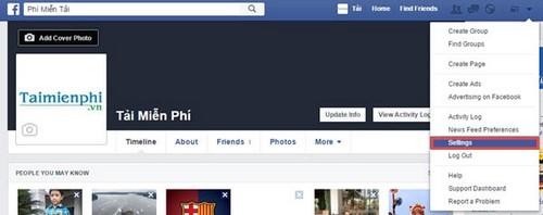 cach lay id facebook
