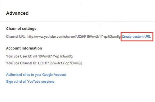 Rename youtube channel, change the path Youtube channel