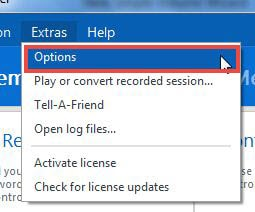 Change the access password length Teamviewer