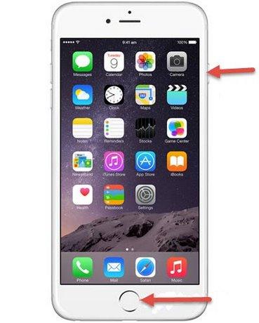 chup man hinh iphone ipad