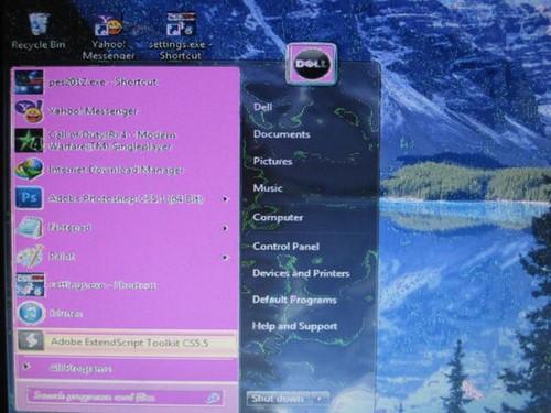 Lỗi màn hình laptop bị nhòe, bị mờ, loang lổ