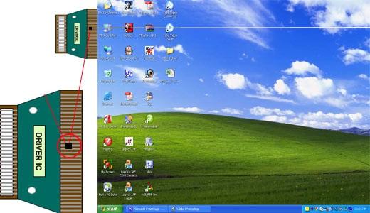 Lỗi màn hình laptop bị sọc ngang, sọc dọc