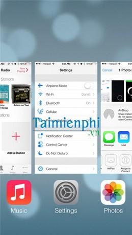 Xem ứng dụng đang chạy trên iPad, mở đa nhệm iphone, mở đa nhiệm ipad