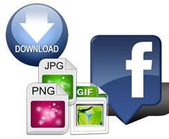 upload photos facebook download images facebook on pc laptop phone