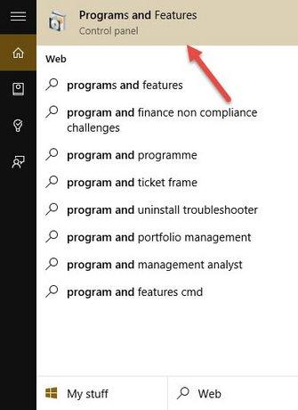 kich hoat net framework 3.5 tren windows 10