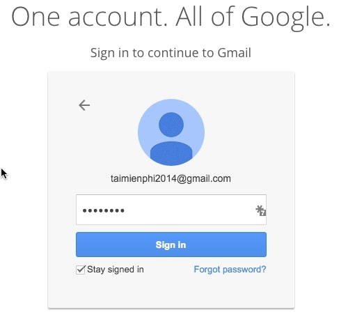 See mails, check, open mail sent on Gmail