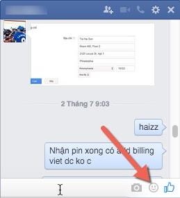 su dung sticker lien minh huyen thoai tren facebook