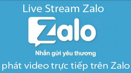 phat video tren zalo