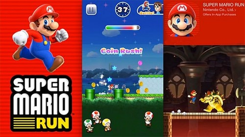 cach choi Super Mario Run