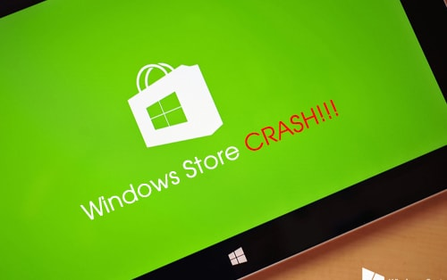 sua loi crash windows store trên windows 10
