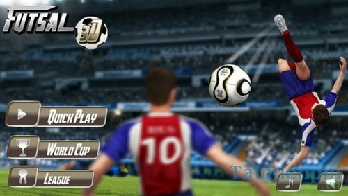 top game futsal hap dan tren dien thoai