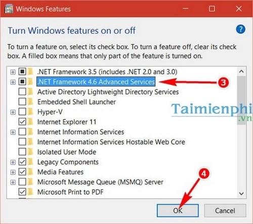 Sửa lỗi .Net framework 4.5 khi cài AutoCAD