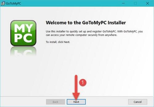 Kết nối máy tính Cài GoToMyPC, phần mềm kết nối máy tính từ xa