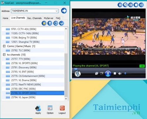 sopcast 4.2.0