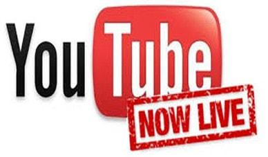 phat video truc tiep tren youtube