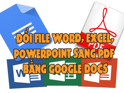 chuyen office sang pdf bang google docs