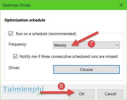 Kích hoạt Trim, sử dụng lệnh Trim trên Windows