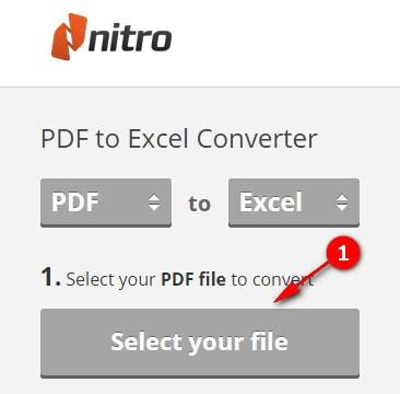chuyen pdf sang excel doi file pdf sang xls