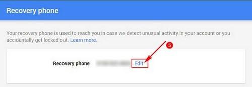 doi so dien thoai trong dich vu gmail