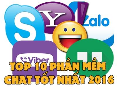 top phan mem chat tot nhat nam 2016
