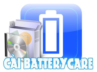 cai batterycare setup batterycare tren may tinh windows