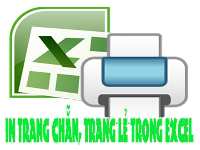 in 2 mat chan le excel, in trang chan trang le trong excel