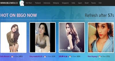 huong dan xem live stream bang bigo live tren may tinh