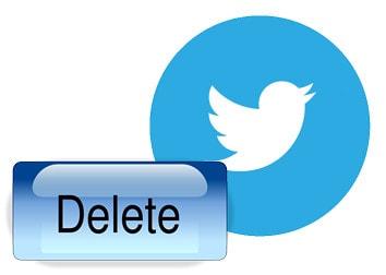 xoa tai khoan twitter