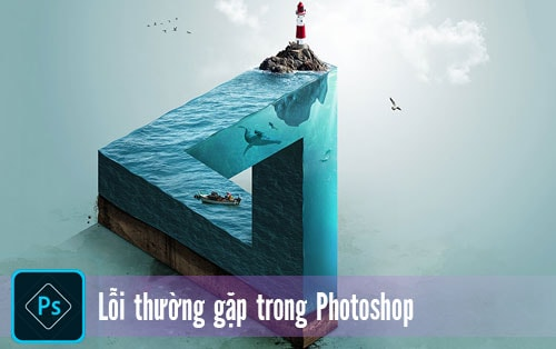 loi trong Photoshop