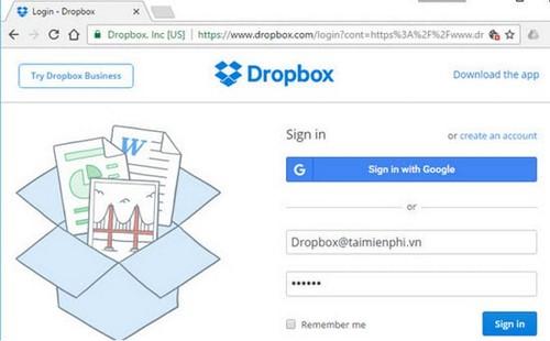 doi ten file tren dropbox
