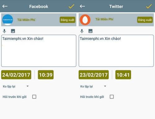 Hướng dẫn lên lịch gửi tin nhắn, lời chúc tới bạn bè trên Android