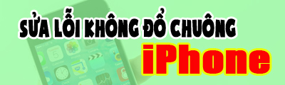 sua loi iphone khong do chuong