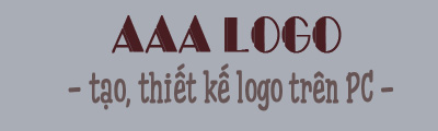tao logo dep bang aaa logo