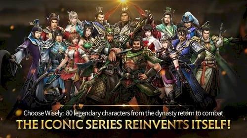 dynasty warrior choi game tam quoc tren dien thoai android iphone ipad 1