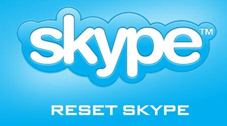 huong dan reset skype tren windows 10